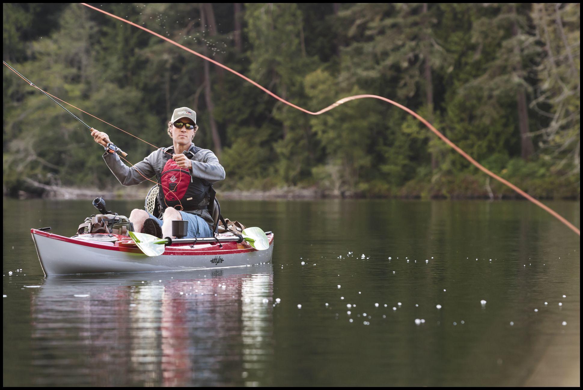Kayaks: Caribbean 14 Angler by Eddyline Kayaks - Image 2601