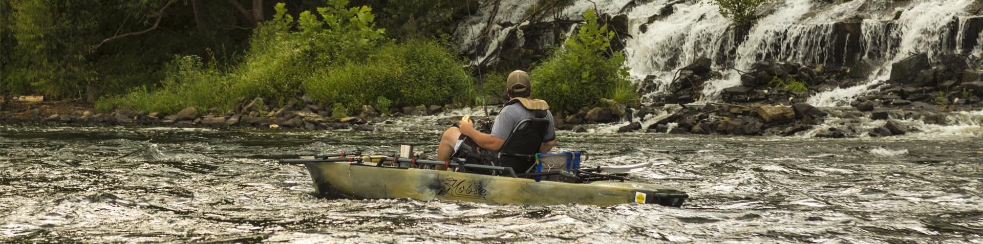 Kayaks: Mirage Pro Angler 12 by Hobie - Image 2691