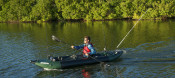 Kayaks: 350FX Fishing Explorer™ by Sea Eagle - Image 3026