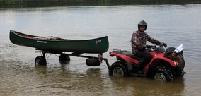 Transport, Storage & Launching: ATV - UTV - QUAD - GOLF CART by North Woods Sport Trailers - Image 4033