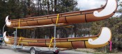 Transport, Storage & Launching: Specialty Canoe, Kayak, SUP, Outrigger, Big Canoe, York Boat  Trailers by North Woods Sport Trailers - Image 4532