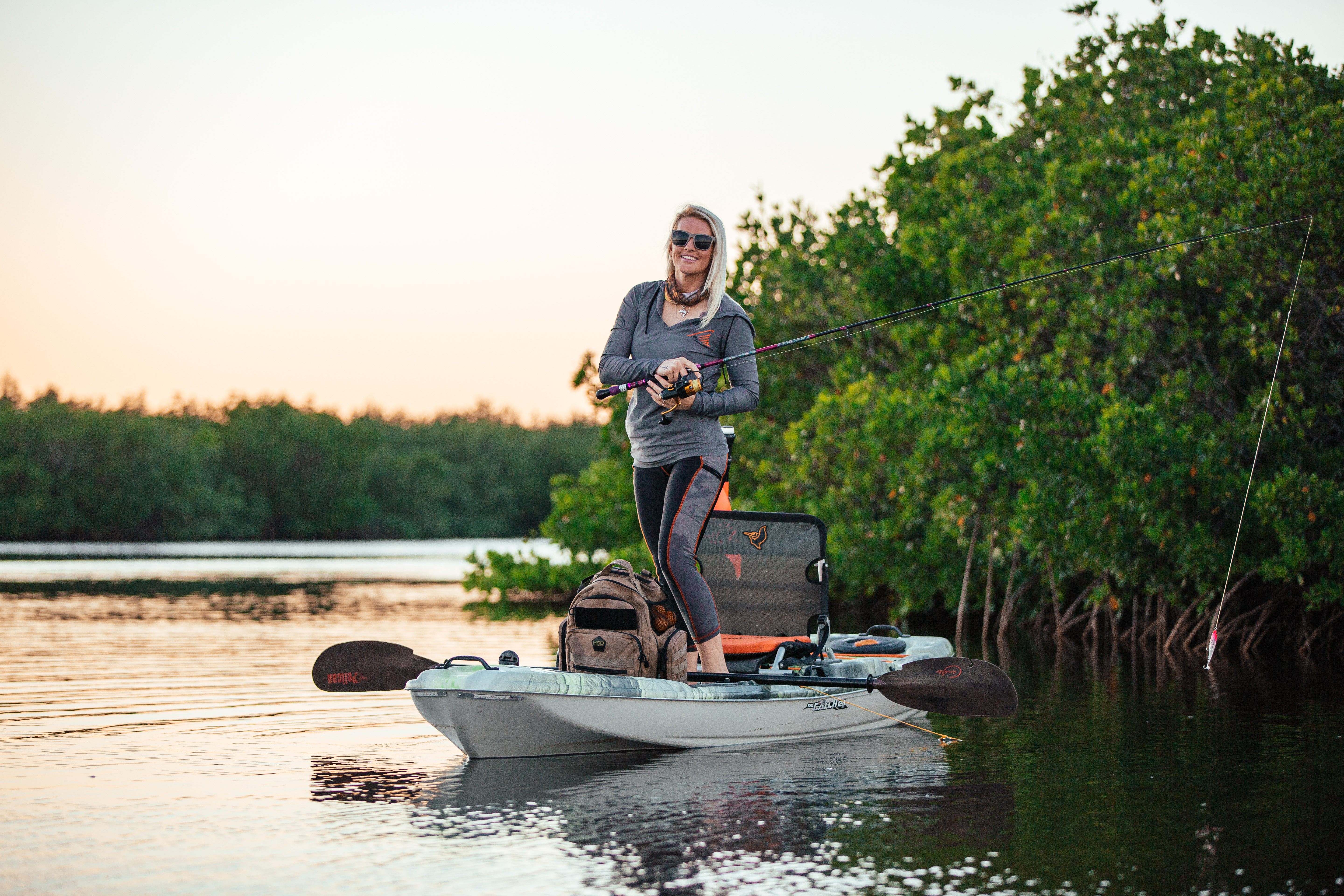 Kayaks: The Catch 120 by Pelican Premium - Image 4621
