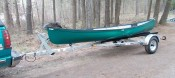 Transport, Storage & Launching: Single Canoe/Kayak/Sailboat/Rowing Hull/ Specialty Trailer/Storage/Bikes by North Woods Sport Trailers - Image 4656