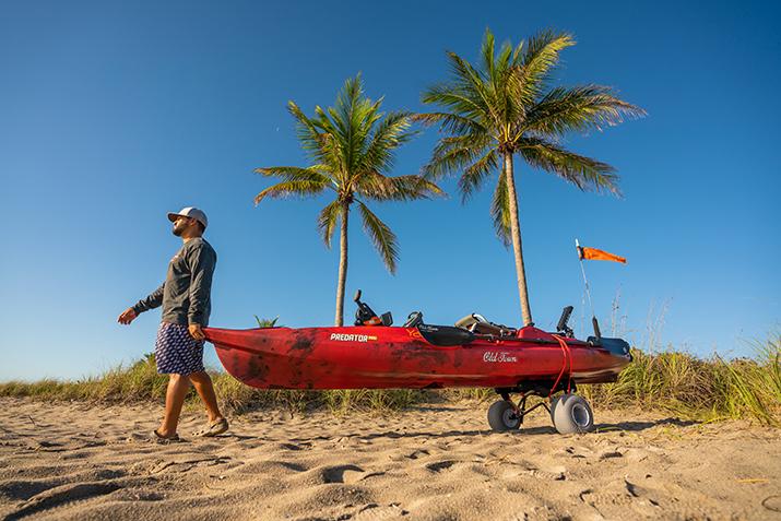 Transport, Storage & Launching: WideTrak ATB Large Kayak/Canoe Cart by Malone Auto Racks - Image 4732