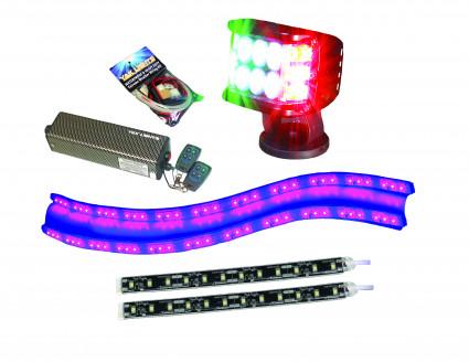 Electronics: FL-POWER LIGHT KIT - FLX SPOTLIGHT, MARKER/INTERIOR LIGHTS, POWER SUPPLY WITH WIRELESS CONTROL by Yak Lights - Image 4571